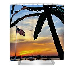 I Never Tire Of Sunsets Shower Curtain