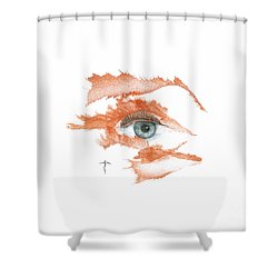 I O'thy Self Shower Curtain
