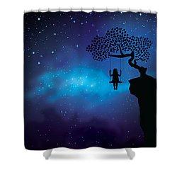 I Ponder Shower Curtain