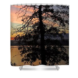 I Saw Her Standing There - Silhouette Of A Dream  Shower Curtain
