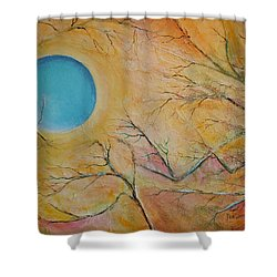 I Saw You Standing Alone Shower Curtain