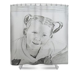 I See It Shower Curtain by Christine Lathrop