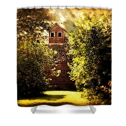 Shower Curtain featuring the photograph I See You by Julie Hamilton