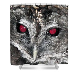 I See You Shower Curtain by Karen Wiles