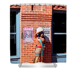 Shower Curtain featuring the photograph I See You by M Diane Bonaparte