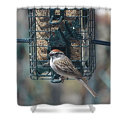 I Sing For My Supper Shower Curtain