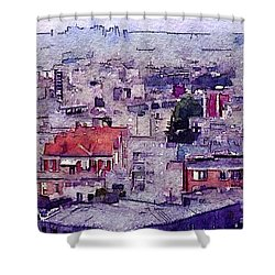 I Still Have Paris Shower Curtain by Susan Maxwell Schmidt