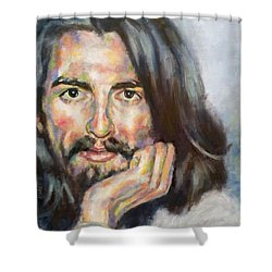 Free From Birth Shower Curtain by Rebecca Glaze