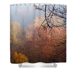 I Thought Of You Shower Curtain
