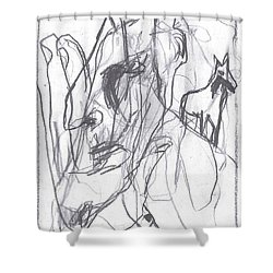 I Was Born In A Mine 9 Shower Curtain