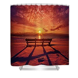 I Will Always Be With You Shower Curtain