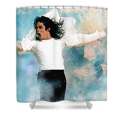 I Will Be There Shower Curtain