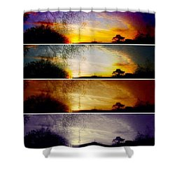 I Will Stay By Your Side Shower Curtain