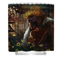 I Wish I Could Fly Shower Curtain