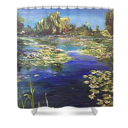 I Wish The Best For You - II Shower Curtain by Belinda Low