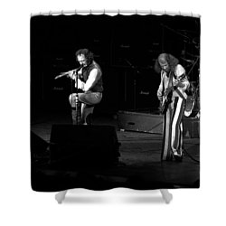 Ian And Martin Shower Curtain by Ben Upham