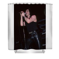 Ian Astbury Of The Cult Shower Curtain