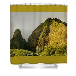 Iao Needle And Mountain Shower Curtain