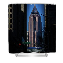 Ibm Tower Shower Curtain