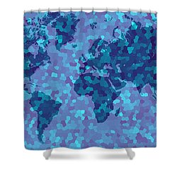 Shower Curtain featuring the photograph Ice Age by Mark Blauhoefer