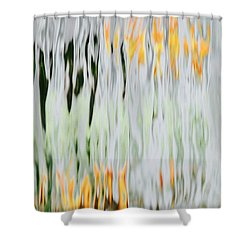 Ice And Fire Shower Curtain by Tim Good