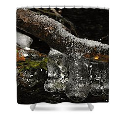 Ice Boots Shower Curtain