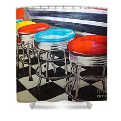 Ice Cream Anyone? Shower Curtain