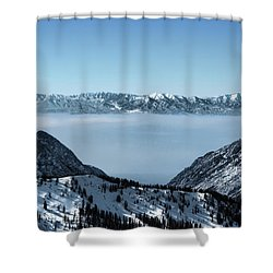 Ice Cream Castles Shower Curtain by Jim Hill