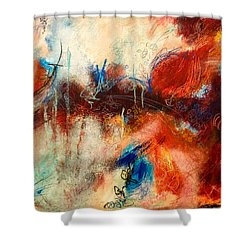 Ice Cream From Ear To Ear Shower Curtain
