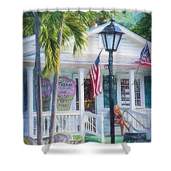 Ice Cream In Key West Shower Curtain