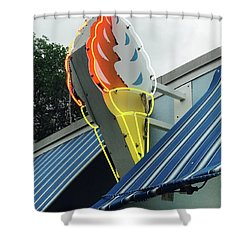 Ice Cream Shower Curtain