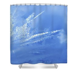 Ice Crystals 2 Shower Curtain