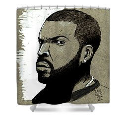 Ice Cube Shower Curtain