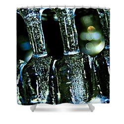 Ice Formation 02 Shower Curtain