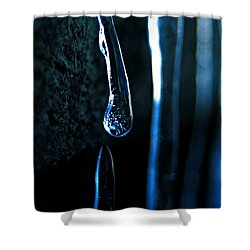 Ice Formation 09 Shower Curtain