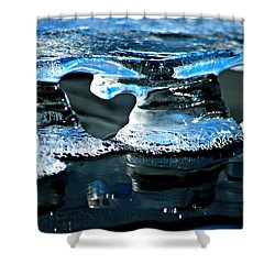 Ice Formation 10 Shower Curtain