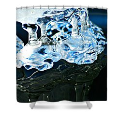 Ice Formation 11 Shower Curtain