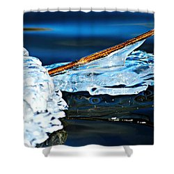 Ice Formation 12 Shower Curtain