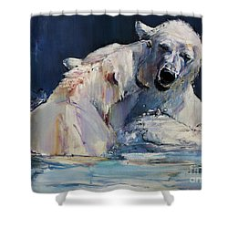 Ice Play Shower Curtain