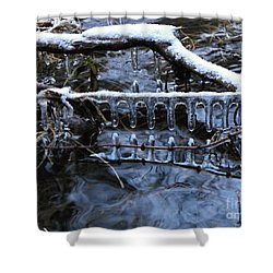 Ice Rake Shower Curtain