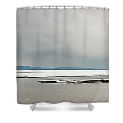 Ice Sheet Shower Curtain