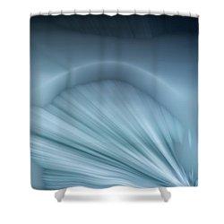 Ice Shelf Shower Curtain