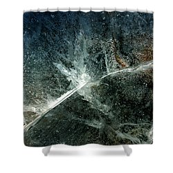 Ice Winter Denmark Shower Curtain