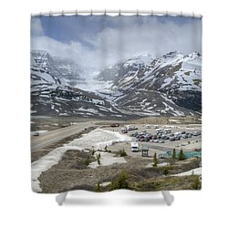 Icefields Parkway Highway 93 Shower Curtain