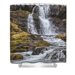 Iceland Fjord 2 Shower Curtain
