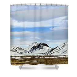 Icelandic Wilderness Shower Curtain