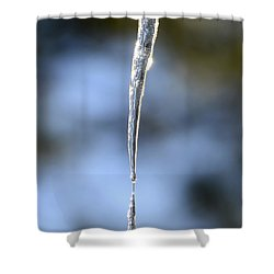 Icicles In Bloom Shower Curtain