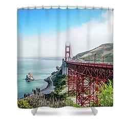 Iconic Bridge Shower Curtain