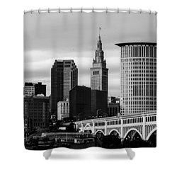 Iconic Cleveland Shower Curtain