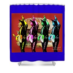 Iconic Experience Shower Curtain by Keith Dillon